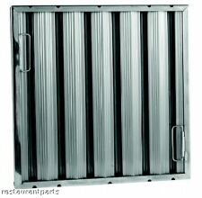 Exhaust Hood Grease Filter Baffle 16x16 stainless 31266