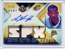 2008-09 SPX CARD NO.133 ANTHONY RANDOLPH AUTOGRAPH JERSEY ROOKIE #13/25,WARRIORS