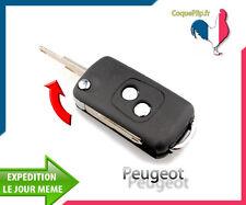 Coque Télécommande Plip Bouton Peugeot 106 206 205 306 405 + Cle vierge