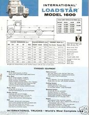 Truck Brochure - International - 1600 - Loadstar - Blue (TB461)
