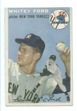 1954 Topps Whitey Ford New York Yankees EX +   # 37