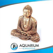 #18707 Kazoo GOLD Buddha with Air Medium Aquarium Ornament Fish Tank Decoration
