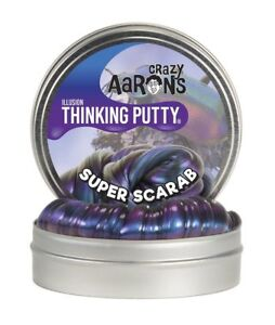 "Crazy Aaron's Thinking Putty - Super Scarab - Illusions - Mini 2"" Tin"