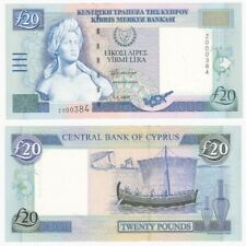 CYPRUS £20 Banknote - Low number 000384 - Pick ref: 63c - UNC.