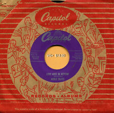 MERLE TRAVIS (Love Must Be Ketchin' / Louisiana Boogie) COUNTRY 45 RPM RECORD