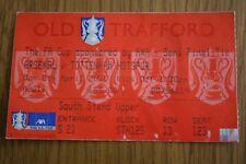 Arsenal v Tottenham Hotspur 2001 FA Cup Semi-Final Ticket