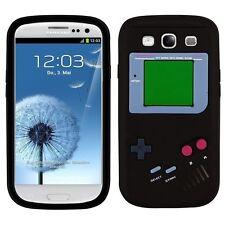 Samsung Galaxy  S3 / S3 Neo Gameboy Handy Case Hülle Schale Tasche Schwarz Kult!