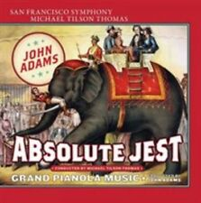 NEW Adams: Absolute Jest, Grand Pianola Music (Audio CD)