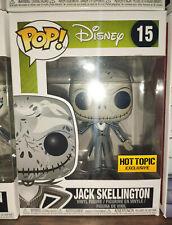 FUNKO POP! Disney - TNBC -Jack Skellington Zero Art #15 - Hot Topic Exclusive