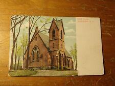Vintage Postcard Christ Church, Marlboro, N.Y.