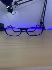 CliC Magnetic Reading Glasses; [x1.75] Hangs around neck, snaps closed, Blue