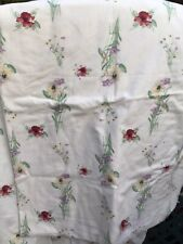 Single  Duvet Frill Valance Sheet 3 Pillow Case Country Diary collection - Poppy