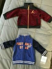 Toddler's Jackets lot of 2, Carter's Sz 3 mos and Basketball Jacket Sz 3-6 mos