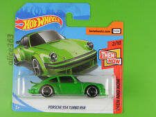 HOT WHEELS 2018 -  Porsche 934 Turbo RSR -  Then and Now  -  338 -  neu in OVP