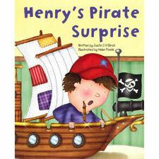 Large Childrens Bedtime Story - Henry's Pirate Suprise - Picture Book Kids 2195