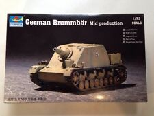 TRUMPETER 07211 tedesco BRUMMBAR (Mid produzione) scala 1:72 NUOVO