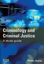 Criminology and Criminal Justice: A Study Guide, Good Condition Book, Joyce, Pet