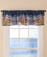 LINDA SPIVEY COUNTRY OR SUNFLOWER SENTIMENT VALANCE OR TIER PAIR WINDOW CURTAINS