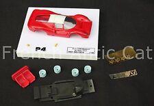OT'' Voiture Ferrari P4 Le Mans Filipinetti 1967  rouge 1/43 Heco modeles 200 Ex