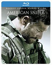 American Sniper [2014]  (Blu-ray Steelbook) Bradley Cooper, Sienna Miller