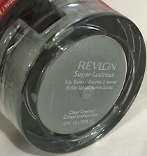 10 X Revlon Super Lustrous Lip Balm - Clear Crystal