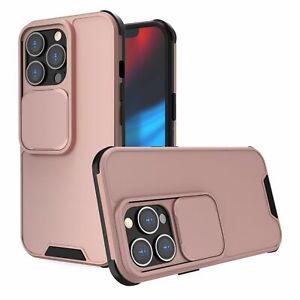 Handyhülle für Apple iPhone 13 Pro Max Schutzcase Backcover Bumper Etuis Rosa
