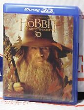 VERY GOOD HOBBIT UNEXPECTED JOURNEY 3D+2D+BLU-RAY PT.1+PT.2+ DVD! 5 DISC SET!