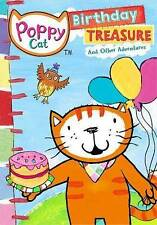 Poppy Cat: Birthday Treasure (DVD) Childrens Animated Age 2+ ,WS, NEW and Sealed