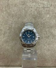 Preowned TAG Heuer Blue Aquaracer Quartz Swiss Men's Watch