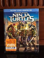 Teenage Mutant Ninja Turtles (Blu-ray/DVD, 2014, 2-Disc Set) BRAND NEW w/ SLIP