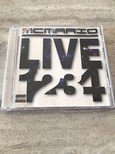 Mc Mario CD 1234 Live Good Condition