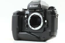 【NEAR MINT-】 Nikon F4s 35mm SLR Film Camera Body Only w/ MB-21 From JAPAN