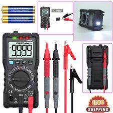 TRMS Digital Multimeter NCV VFC Detector DC AC Voltage Diode Tester Capacitance