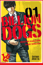 BILLION DOGS 1 01 AKATA Shonen Polar Social Manga Serizawa Kaneshiro # NEUF #