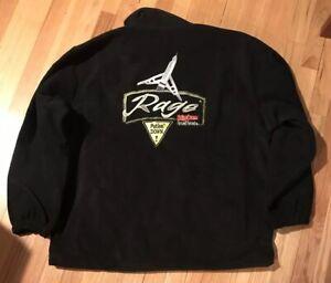Rage Full Zip Fleece Jacket Size L