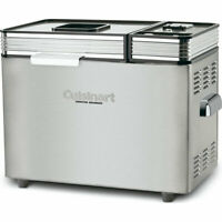 NEW Cuisinart CBK-200 Convection Bread Maker 2 lb. capacity, stainless steel