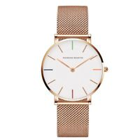 Woman Watch Magnetic Wrist Band Quartz S Ladies Stainless Steel Girl Fashion New