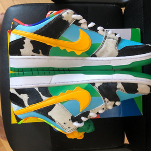 Nike SB Dunk Low Ben & Jerry's Chunky Dunky Black/Gold/Lagoon Pulse
