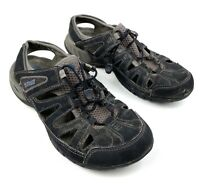 Teva Mens Gray sport hiking sandals Bungi Cinch sz 9