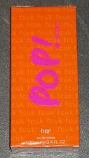 fcuk - POP! music her - Eau de Toilette/NEU/OVP/EdT/Woman/Frau/100 ml