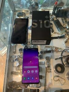 SAMSUNG GALAXY S10 PLUS (SM-G975F) SMARTPHONE IN PRISM BLACK / 128GB - UNLOCKED
