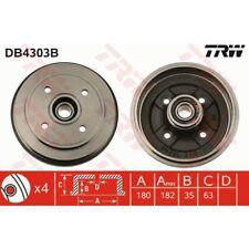 TRW Bremstrommel DB4303B OPEL AGILA A H00 SUZUKI ALTO IV 4 FF SUZUKI WAGON IGNIS