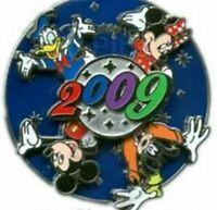Disney Pin 67231 2009 Spinner Mickey Donald Minnie Goofy Martha Widener MI-1
