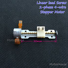 DC5v 2 phase 4-wire Micro Stepper Motor linear Screw shaft lead nut Track slider