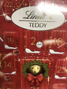 LINDT Lindor Teddy Santa Chocolates Truffles Advent Calendar Christmas 2020🎅🎄