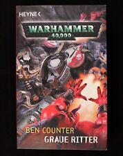 Warhammer 40.000. Gris Ritter Von Ben Contador (2009, Libro de Bolsillo)