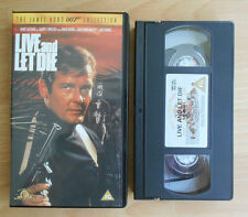 The James Bond 007 Collection (1999) - Live And Let Die - VHS - PAL - Mint