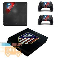 VINILO PS4 SKIN PARA PLAYSTATION 4 SLIM PEGATINA EDICION ATLETICO DE MADRID