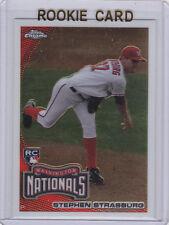STEPHEN STRASBURG RC Topps Chrome 2010 ROOKIE CARD Baseball Washington Nationals