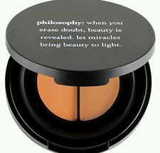 NEW IN BOX PHILOSOPHY MIRACLE WORKER ANTI-AGING CONCEALER DUO SHADE= LIGHT